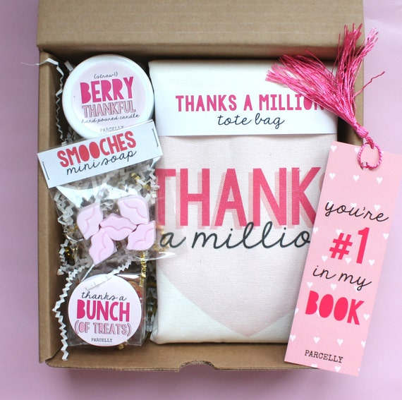 Thank You Gift For Her Thank You Friend Hostess Gift Etsy