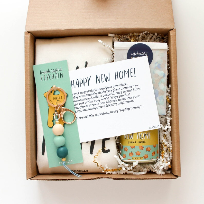 902466741274 Personalized Housewarming Gift Basket Real Estate Closing