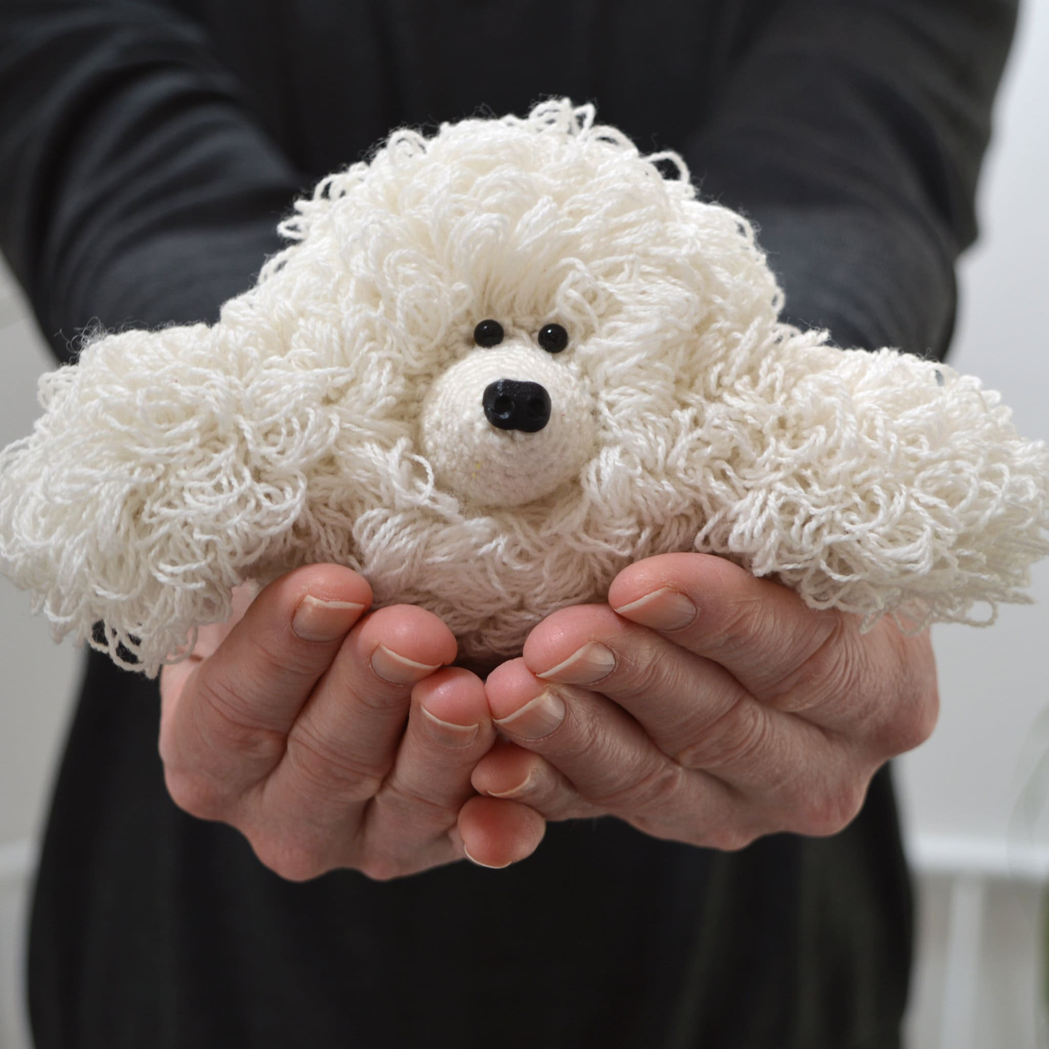 Awesome Häkeln Hund Muster Illustration - Decke Stricken Muster ...
