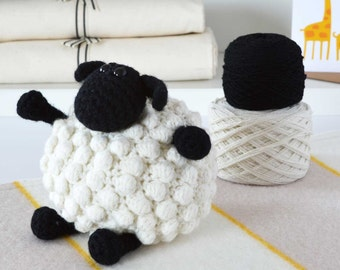 DIY Crochet Kit - Sheep,DIY Crochet Kits,Amigurumi Kit,Amigurumi Kits,Crochet Kits,Crochet Kit,Knitting Kits,crochet,crochet gift