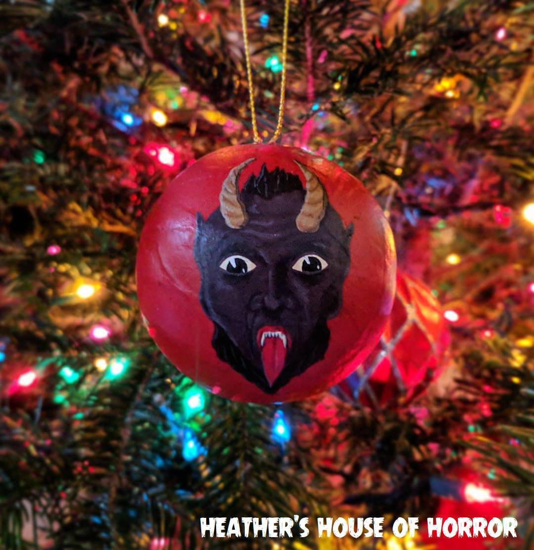 Retro-Stil Krampus Weihnachten Ornament Heather es House of | Etsy