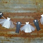 Bridal Shower Decoration, Couples Shower, Engagement Party Banner, Bride and Groom Garland