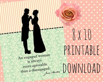 jane austen bridal shower bridal shower decorations jane austen bridal shower decor digital print victorian bridal shower digital art