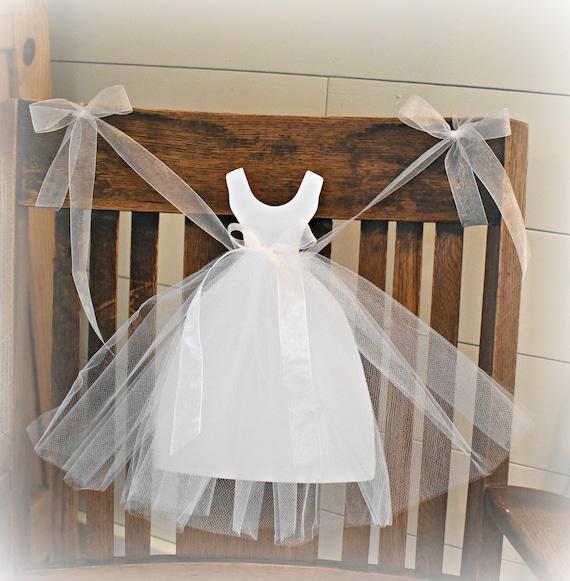 Bridal Shower Backdrop Tulle Dress Garland Bride-To-Be Banner Bridal Shower Decorations