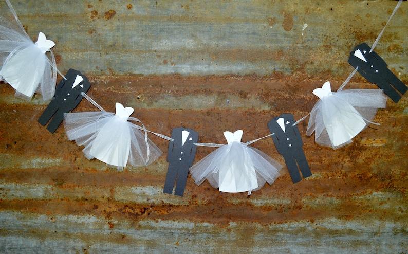 Bride And Groom Bridal Shower Decoration Etsy