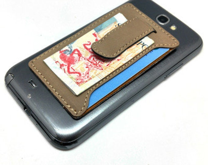 LMC Leatherette Gifts | Money clip, card holder, high quality craft, convenient, classy
