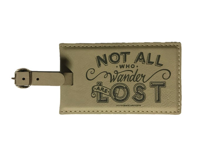 LTT Leatherette Gifts | Traveller Tag, high quality craft, convenient, elegant