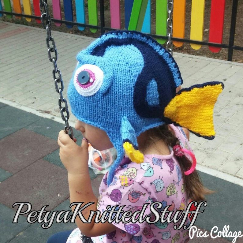 588769994d612 Finding Dory inspired hat Finding Nemo Costume Finding Dory