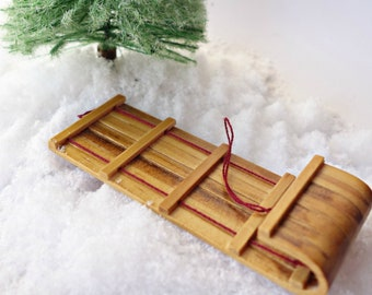 Miniature Fairy Door Toboggan