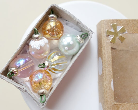 Handmade Christmas ornament box