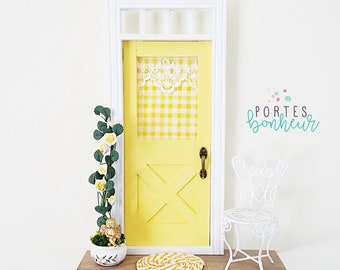 Sunny Yellow Fairy Door, yellow fairy door, Little angel, Little Miss Sunshine Fairy Door
