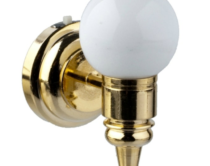 Gold Globe LED light