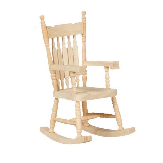 Rocking chair, unfinished