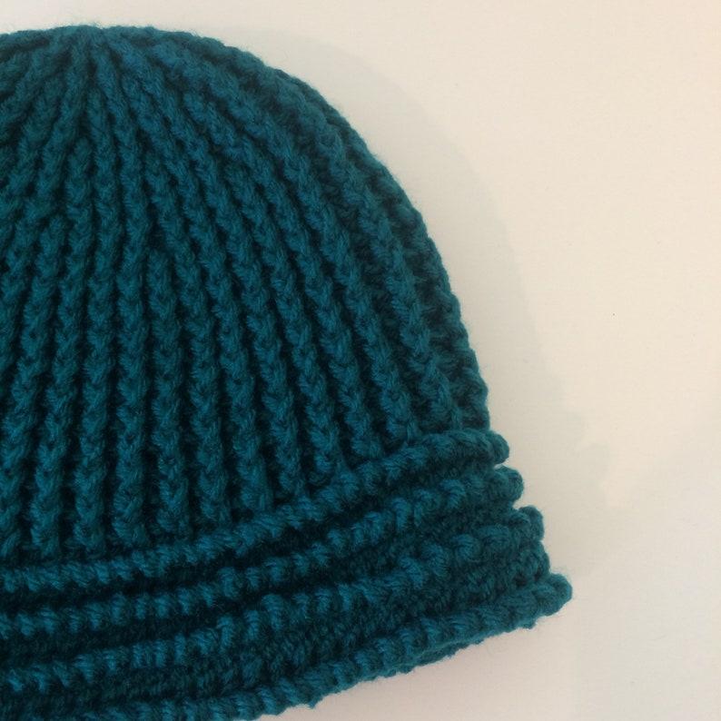 Winter Hat Heavy Crochet