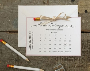 Wedding Invitation Kits Etsy Uk