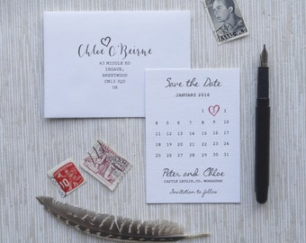 Black Tie  - Save the Dates