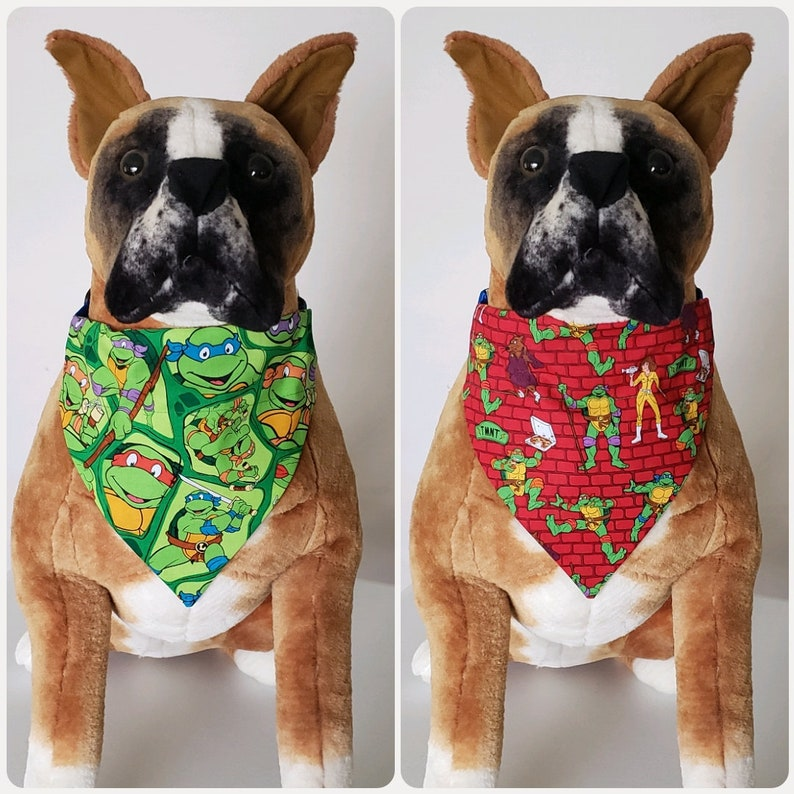 3 sizes to choose from! Party Balloons Red Fabric Dog Bandana Scarf