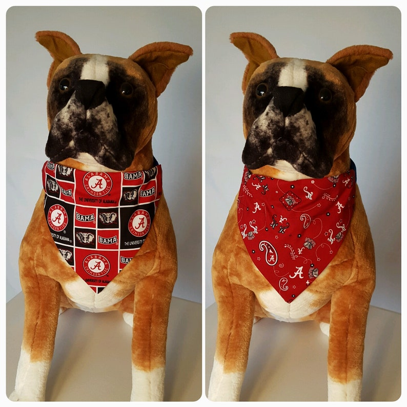 Pet Dog Bandana Scarf  UNIVERSITY OF WISCONSIN BADGERS ***MADE IN USA***