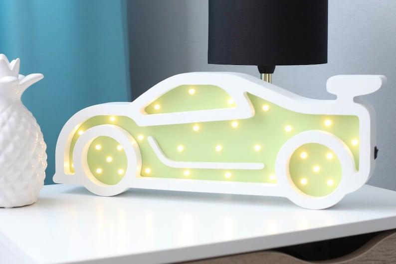 Baby Nacht Holz Leuchte mit led-leuchten für Kinderzimmer | Etsy