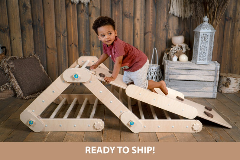 HAPPYMOON®  CLIMBER ramp table chalkboard chair image 0