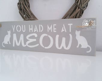 You had me at meow, painted in Annie Sloan