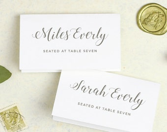 Wedding Place Card Template, Printable Escort Cards, Grecian, Greek Inspired, Greece, Word or Pages, Mac or PC, Instant DOWNLOAD