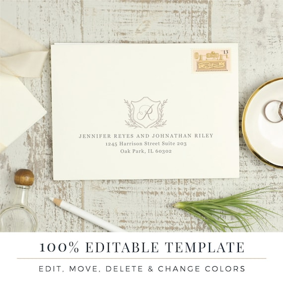 A7 Envelope Word Template from i.etsystatic.com