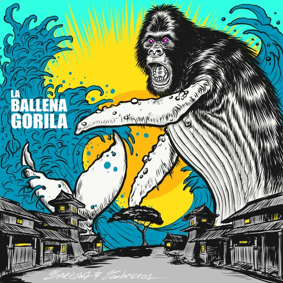 La Ballena Gorila Print