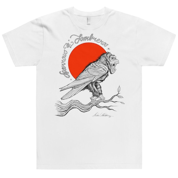 Chimpanzee Bird -Classic tee shirt (unisex)