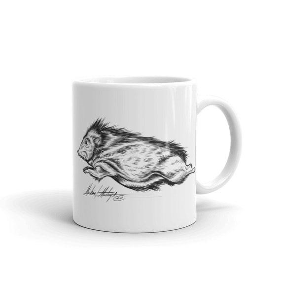 Javelina running NL Mug