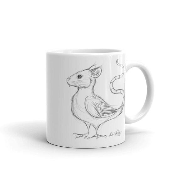 Mouse Bird Mug