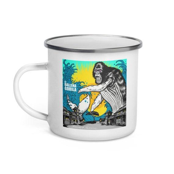 La Ballena Gorila mini Enamel Mug