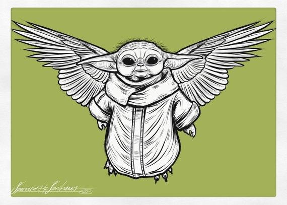 Flying Yoda