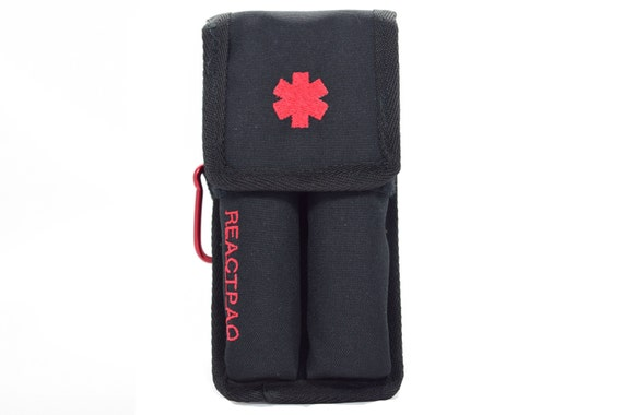 Epipen Carrying Case Reactpaq Allergy Shot Case For The Etsy