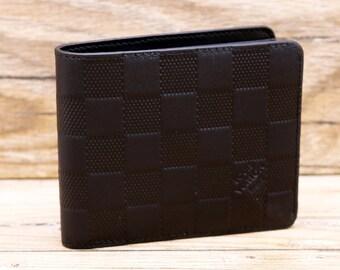 2f914f9328f LV Black Leather Men Wallet