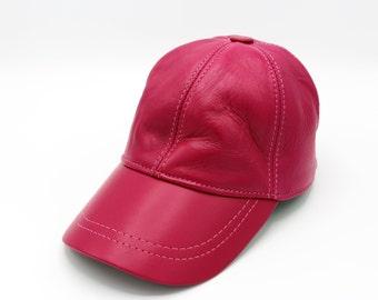 258038c0f74 Leather jockey hat