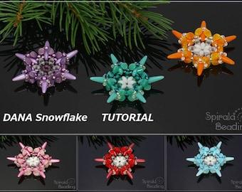 DANA Snowflake - PDF beading pattern