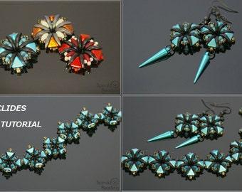 Euclides - Earrings, Bracelet - PDF beading pattern