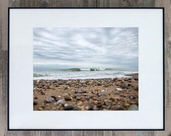 Fine Art Photograph - Moonstone Beach - Rhode Island