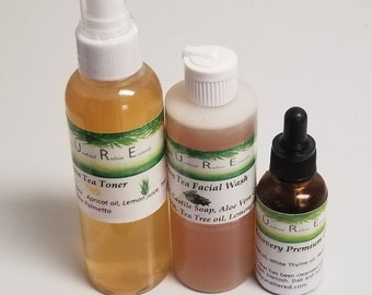 Blemished Skin Kit for Acne Prone, Oily Skin types