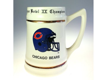 1dae47fe Chicago bears cup   Etsy