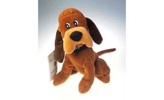Disney Store Trusty Hound Dog Lady And The Tramp Plush Vintage Etsy