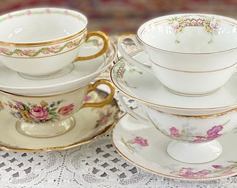Cream Soup and Saucer from Aynsley/'s No 4118 Pattern