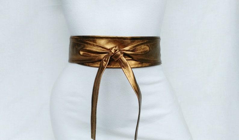 5d8c50ce75e4f Leder Gürtel Kupfer Gürtel Bronze Korsett Gürtel Taille | Etsy