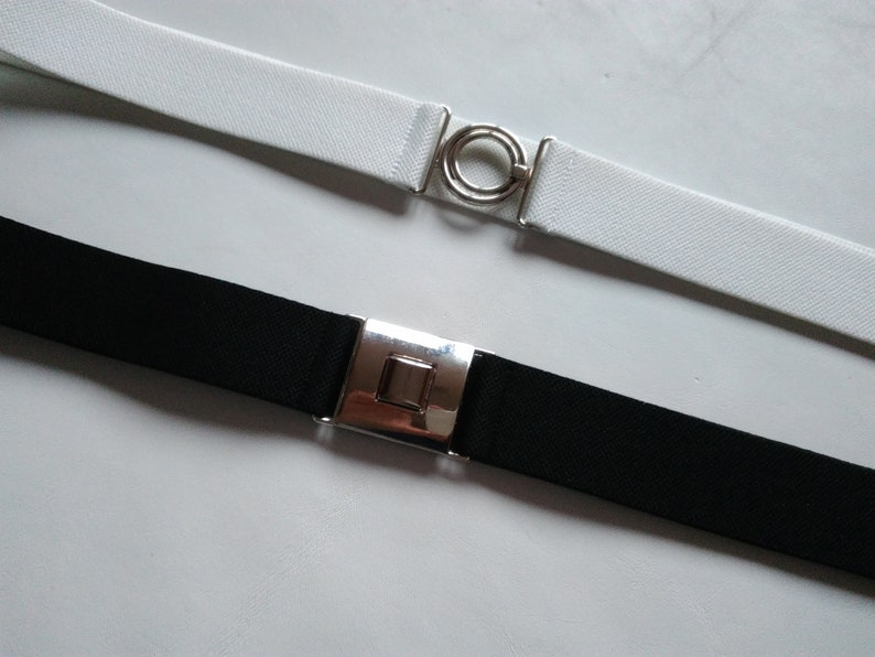 cc858b821fe3aa Schwarze elastische Gürtel Taille Gürtel dünne Taille Cincher | Etsy