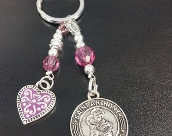 St. Anthony and St Jude Keychains