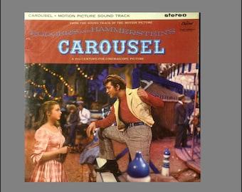 Mini Broadway Musical /'CAROUSEL/' record album Dollhouse 1:12 scale