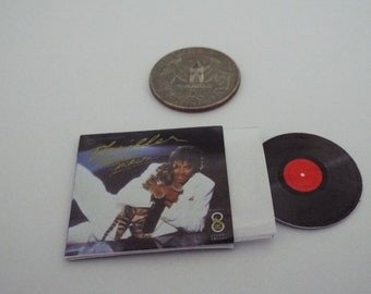 Mini  /'LED ZEPPELIN/' record album Dollhouse BARBIE KEN BLYTHE 1//6  PLAYSCALE