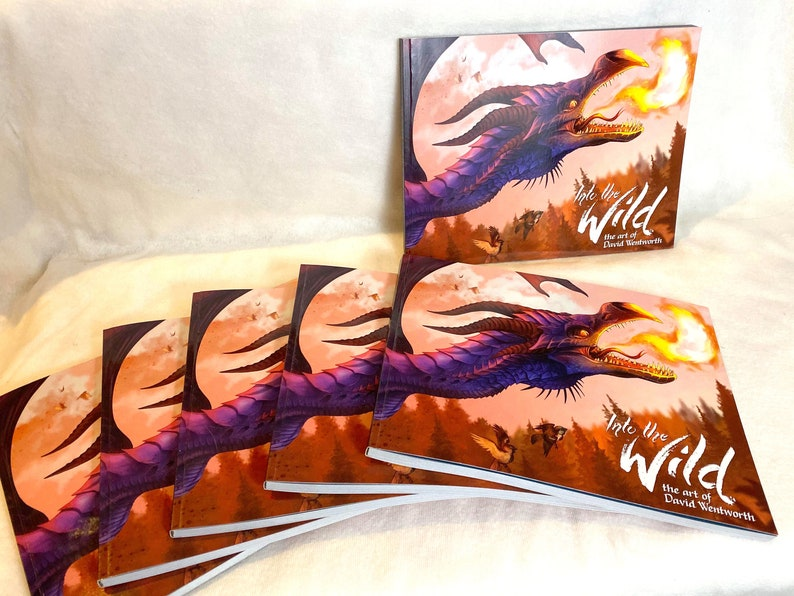Into the Wild: The Art of David Wentworth physical book image 0
