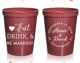 Wedding Stadium Cups